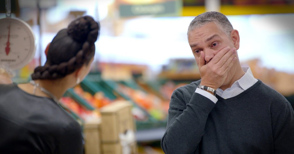 Dads' Grocery Store Surprise For Father's Day Is Touching