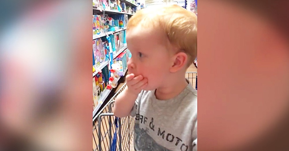 Adorable Little Boy's Trip To The Toy Store Made My Week