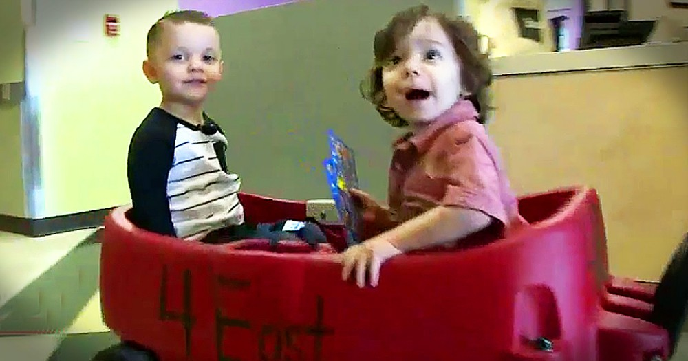 Toddler Friends Fighting Cancer Together Will Warm Your Heart