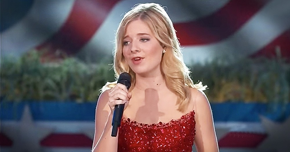 Jackie Evancho Sings Chilling Rendition Of 'God Bless The USA'