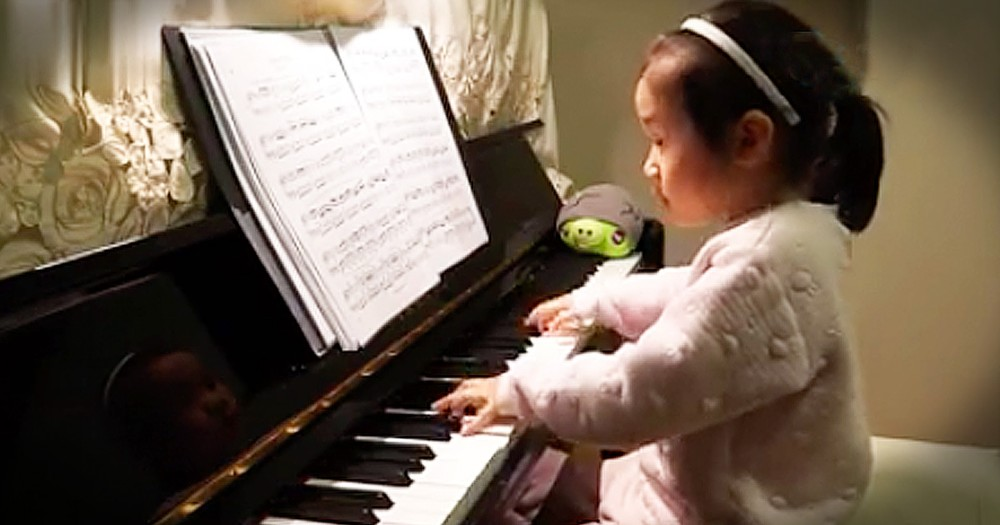 3-Year-Old Piano Prodigy Will STUN You