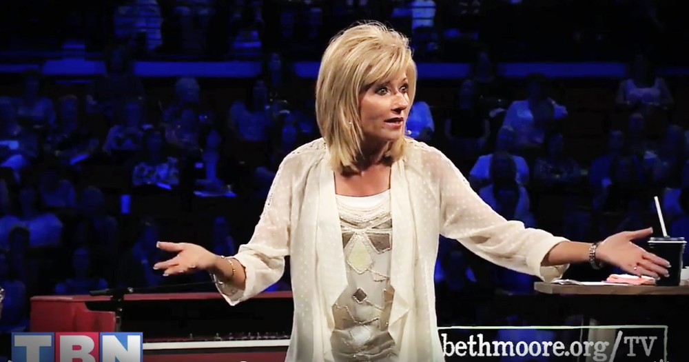 How God Used Beth Moore At A Bus Stop Is Amazing