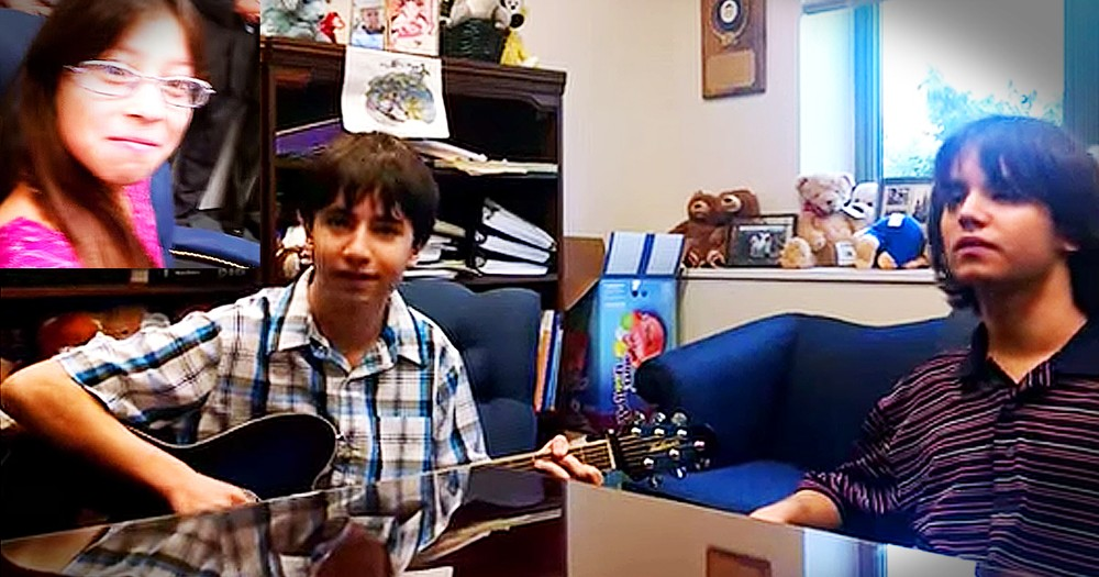 Brothers Write Adorable Song For Their New Adopted Sister