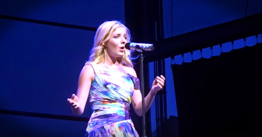 Jackie Evancho Singing 'The Lord's Prayer' Made My Day