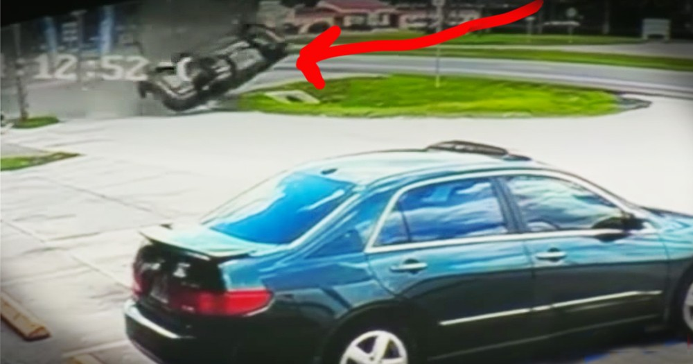 Good Samaritans Heroically Rescue Driver From Car Flipping Out Of Control