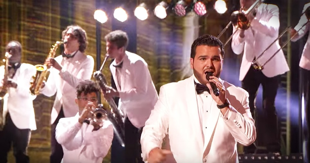 This Smooth-Talking Crooner Gave A Pop Song A Vintage Makeover That Is Swing-tastic