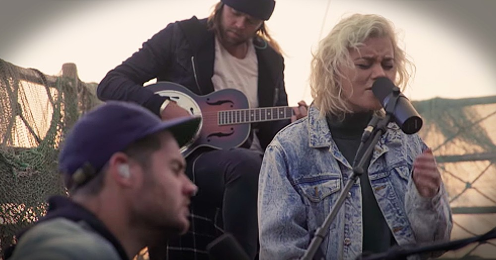 Hillsong United Performs 'Oceans' On The Sea Of Galilee