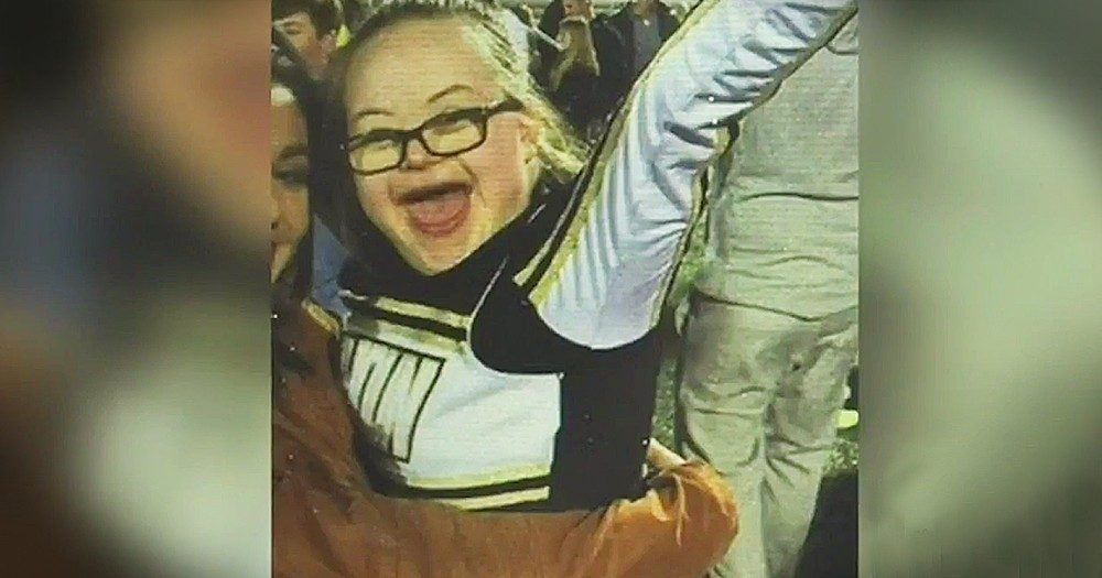 Community Supports Cheerleader With Down Syndrome When She Is Banned From The Football Field