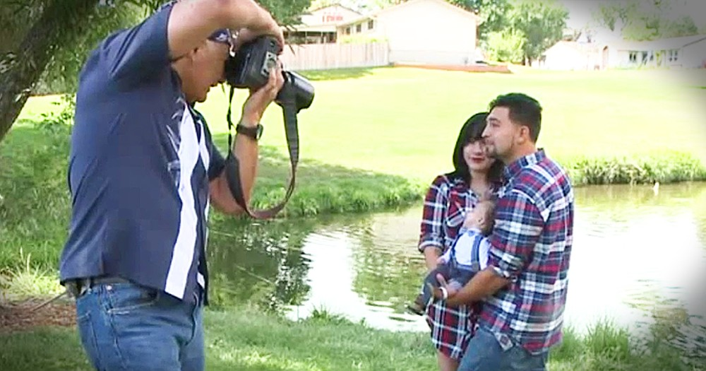 Stranger Gives Couple With Terminally Ill Child A Free Photo Shoot After First Photographer Never Sh