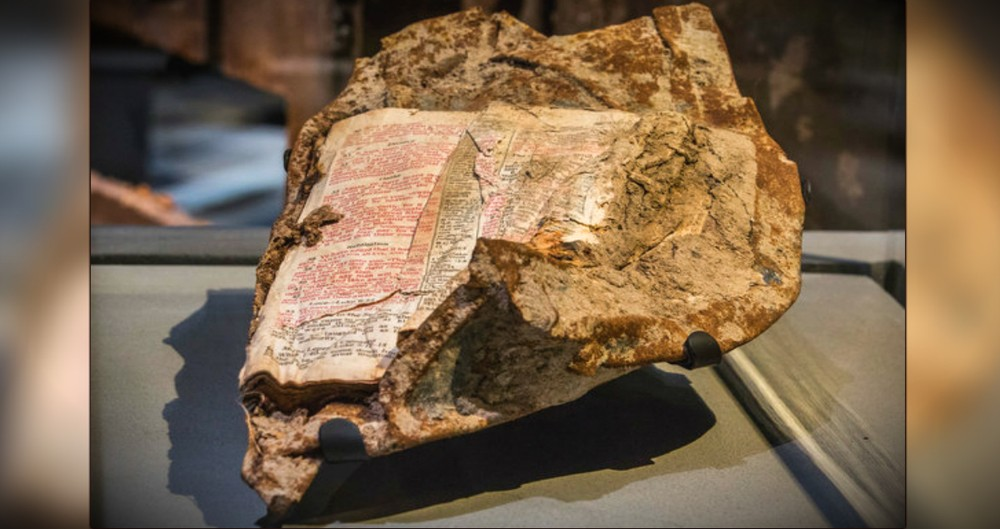 The Bible Verse Fused To 9/11 Rubble Exposes An Important Message