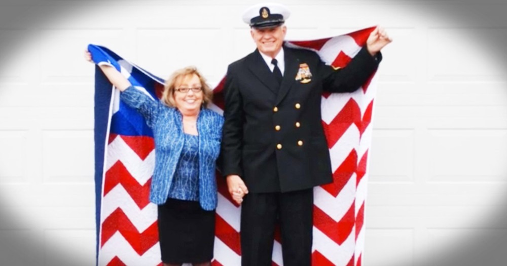 Veteran Started A Facebook Quilting Challenge That's Covering Other Vets With Love