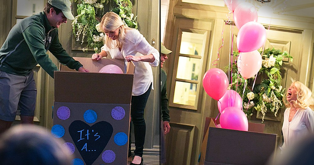Sweet Gender Reveal Announces First Girl After 11 Boys