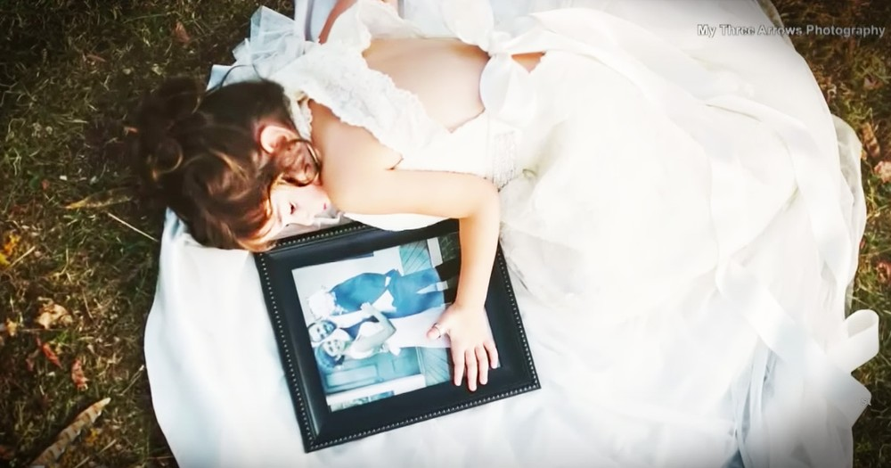4-Year-Old Honors Her Late Mom In Breathtaking Photo Shoot