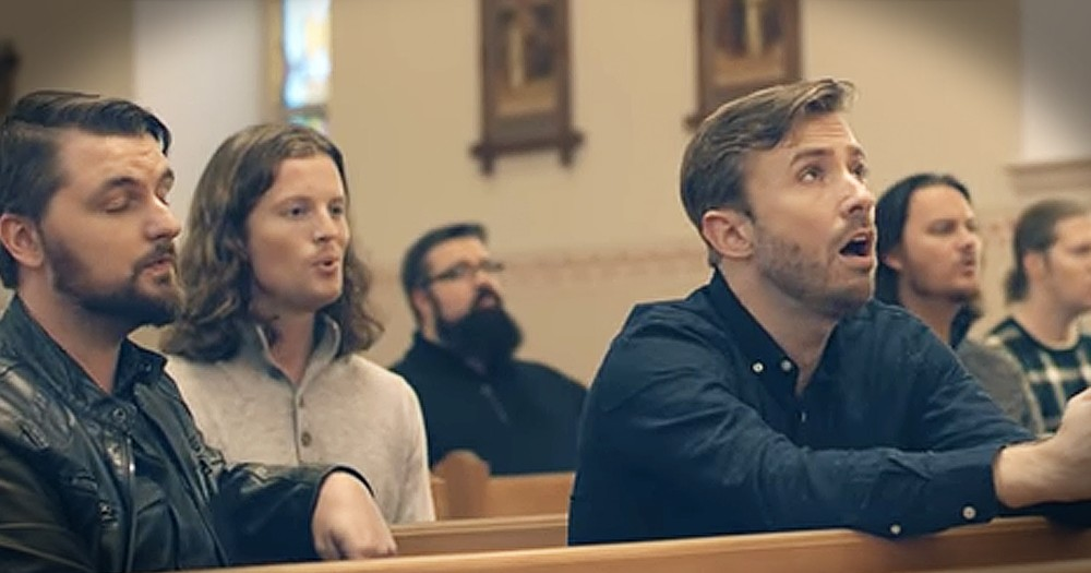 Peter Hollens And Home Free Perform 'Amazing Grace'