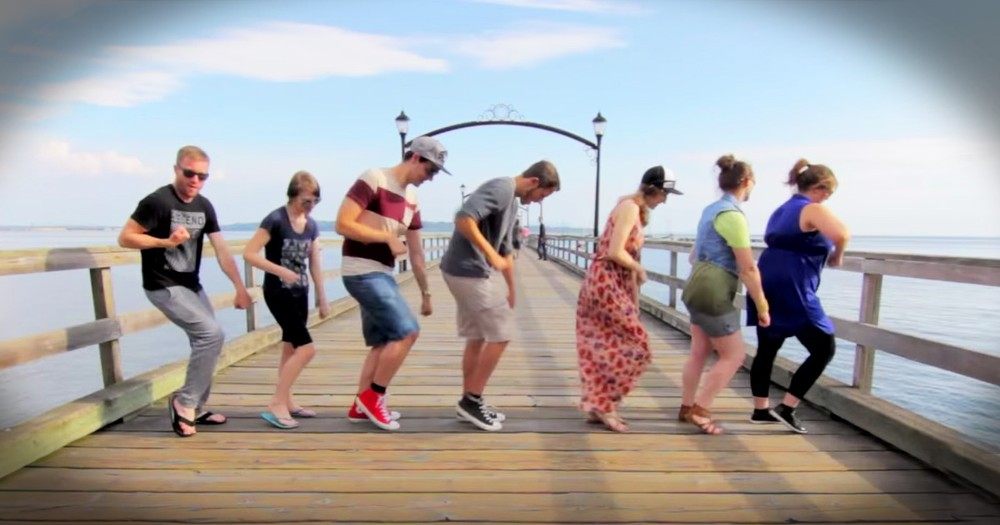 Guy Performs The Same Dance Routine With 100 People All Around The World