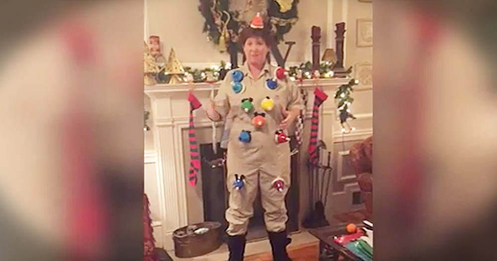 Mom Creates Christmas Suit With Bells To Perform Unique Rendition Of 'Carol Of The Bells'