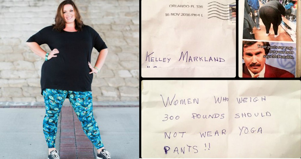 Plus-Sized Mom Receives A Hateful Letter After Wearing Leggings