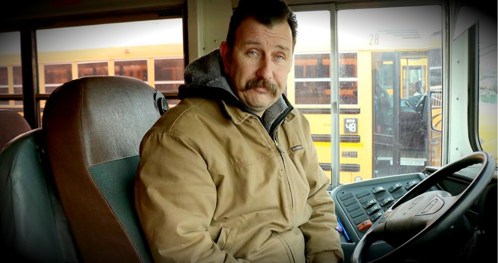 School Bus Driver Hunts Down Little Boy Crying In The Freezing Cold