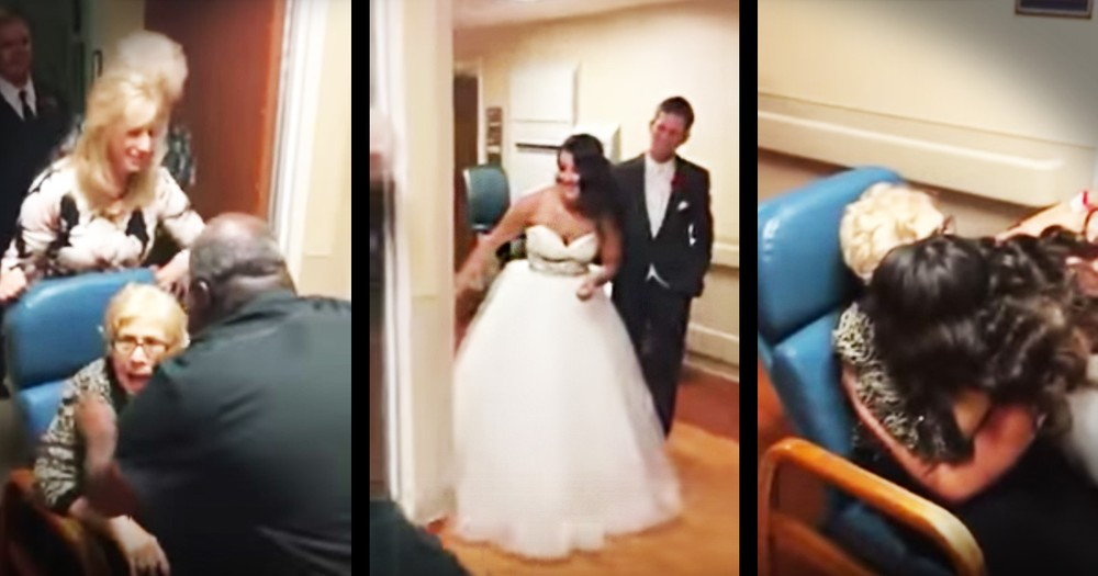 Bride And Groom Leave Their Wedding To Rush To The Hospital