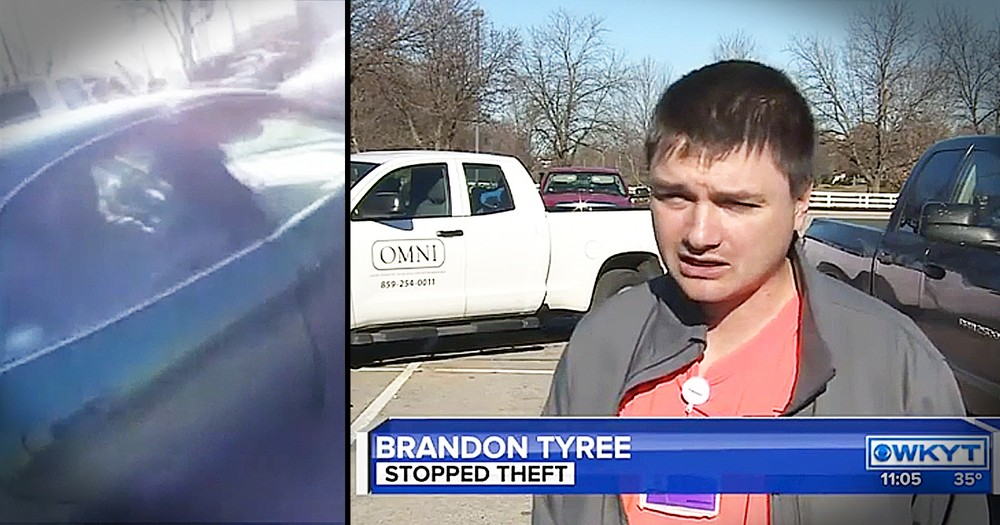Everyday Hero Helps Catch Thieves In Parking Lot
