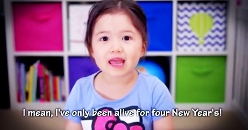 Little Girl's Thoughts On New Years Resolutions Are Truly Lovely