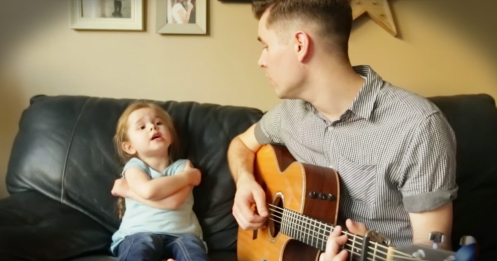 Father And Daughter Melt Hearts With Their 'You've Got A Friend In Me' Duet