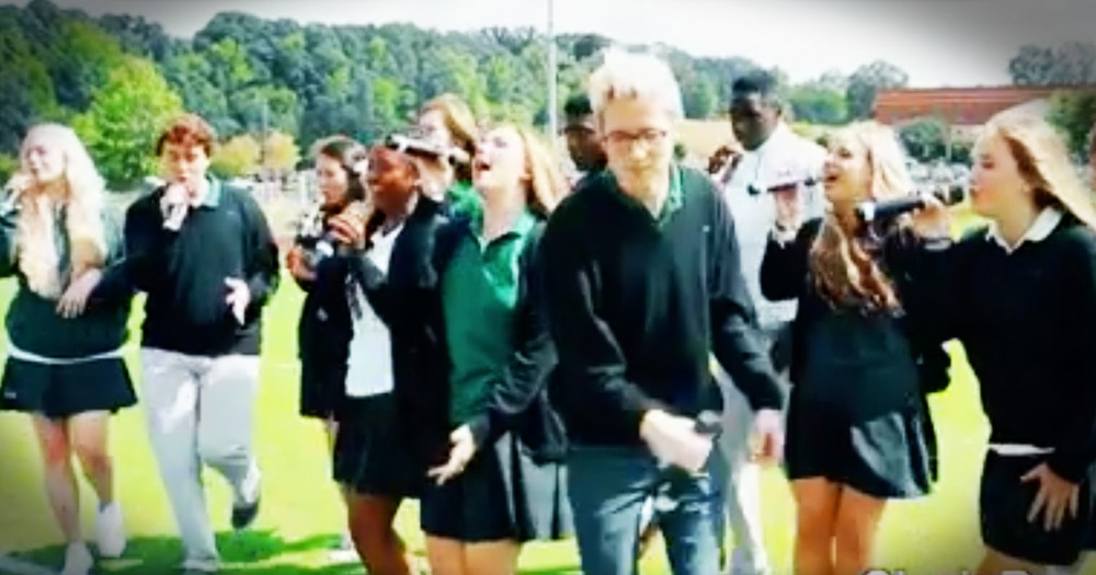 High School Choir's A Cappella Version Of 'I Want You Back' Is Almost Perfect