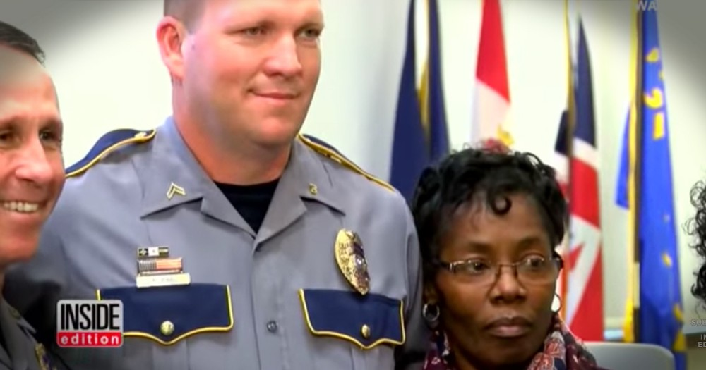 This Grandma Just Saved A Cop In An Incredible Act Of Heroism