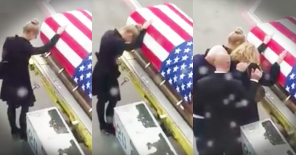Viral Video Of A Grieving Widow Is A Reminder Of What Freedom Costs