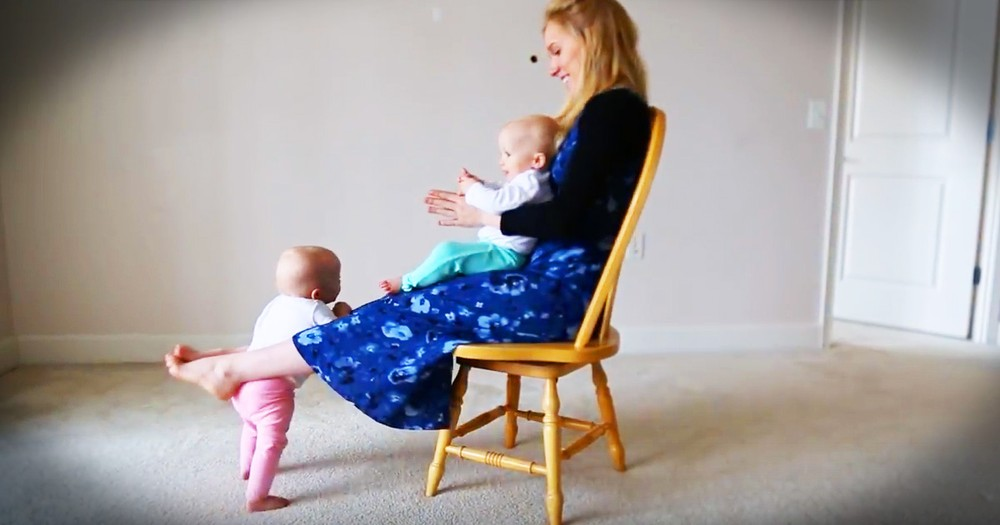 Hilarious Baby Boot Camp Is Getting These Twins In Shape