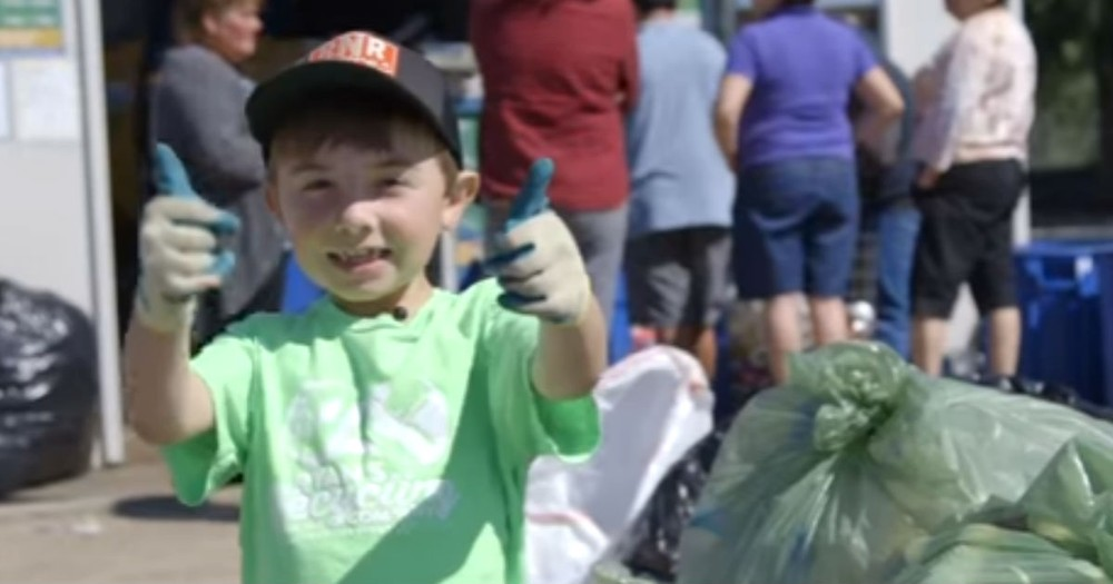7 Year Old Recycling Entrepreneur Is On A Mission And Raises $21,000
