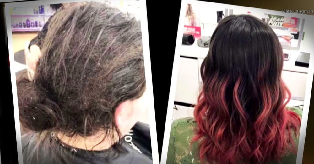 Woman Bedridden With Depression For 6 Months Finds Peace With The Help Of A Hairdresser