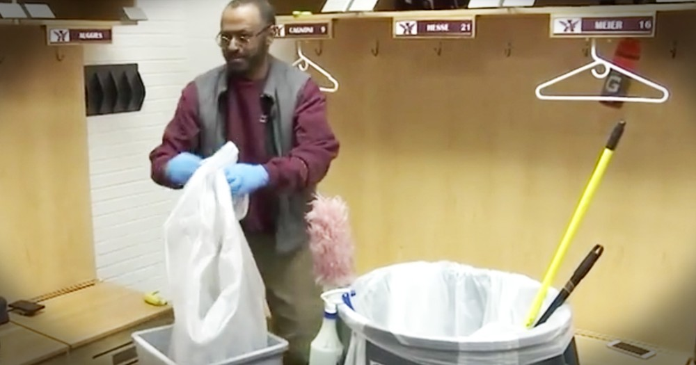 Janitor Hasn't Been Home For 30 Years Until A Group Of College Kids Planned A Huge Secret