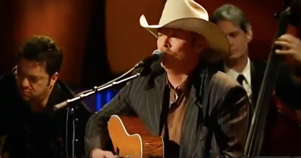 Alan Jackson Brings The Praise With 'I Want To Stroll Over Heaven With You'