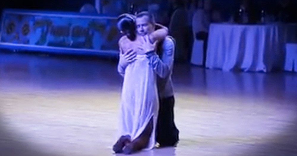 Blind Dancer Brings The Emotion With Ballroom Performance