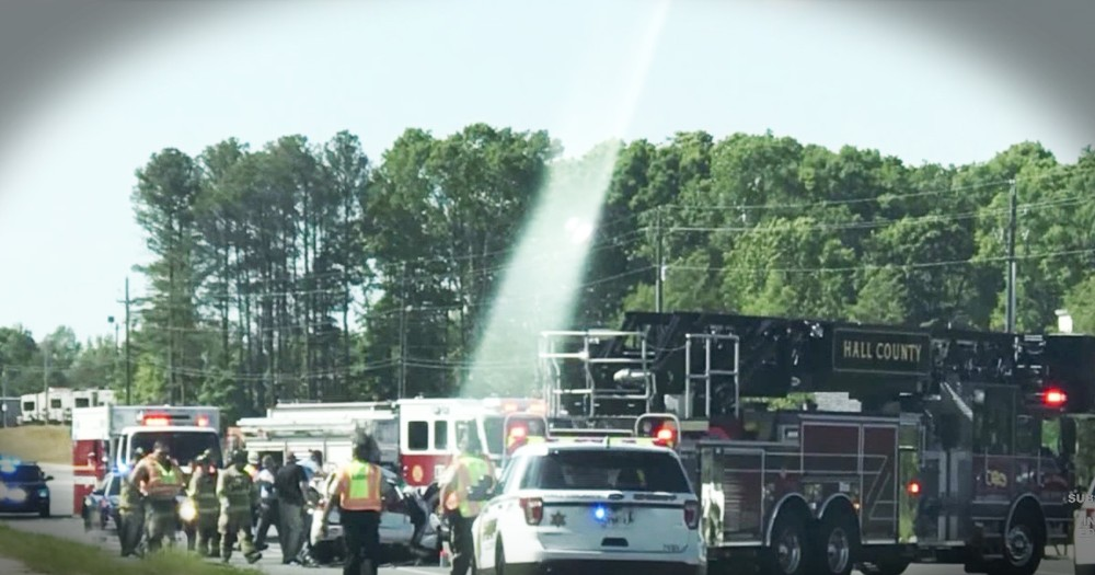 Photo of 'Pathway To Heaven' Comforts Family After A Horrible Wreck