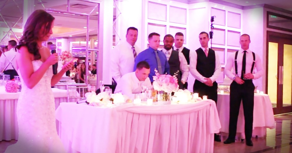 Bride's Toast Turns Into A Powerful Testament To The Bravery Of Police Officers