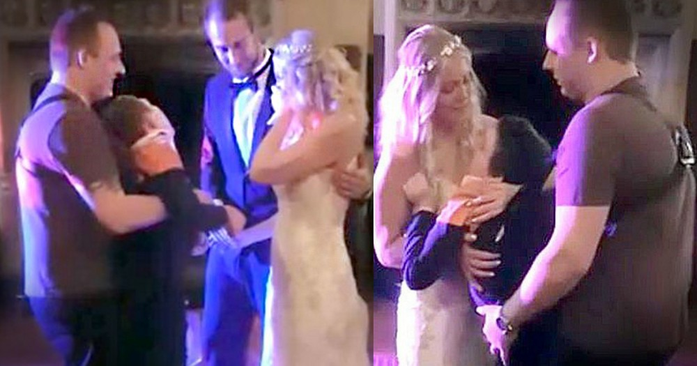 Bride's Dreams Come True With A First Dance She Never Thought Possible