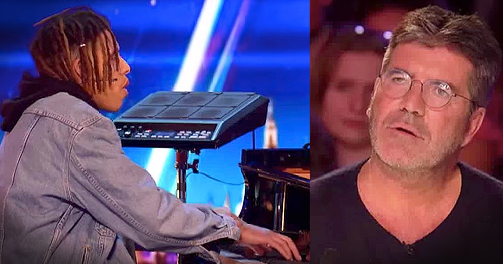 His Piano-Playing Kept Him Off The Streets And This Audition Could Be His Big Break