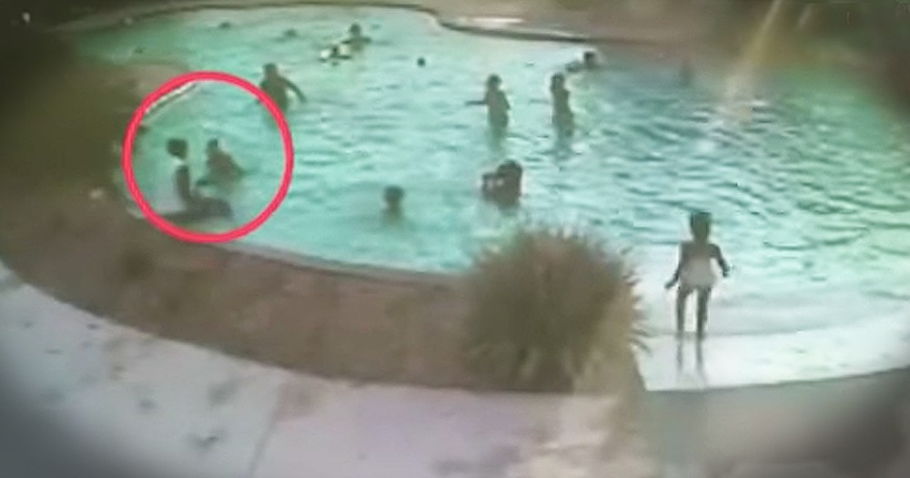 9-Year-Old Saves Toddler From Drowning In Pool