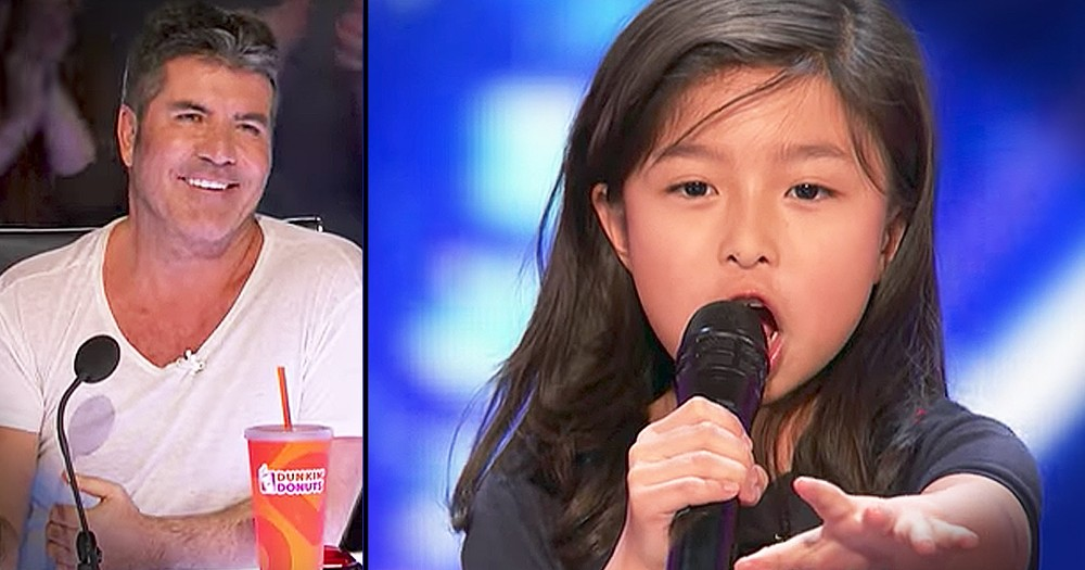 Sweet 9-Year-Old Charms The Judges With 'My Heart Will Go On'