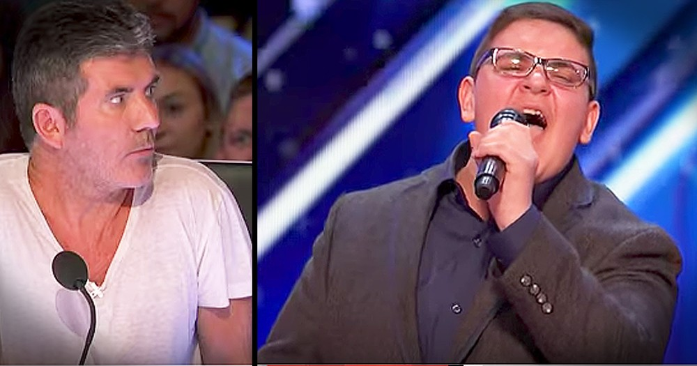 Nervous 16-Year-Old's Audition Earns The Golden Buzzer