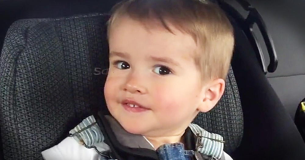Adorable Toddler Tries To Whistle