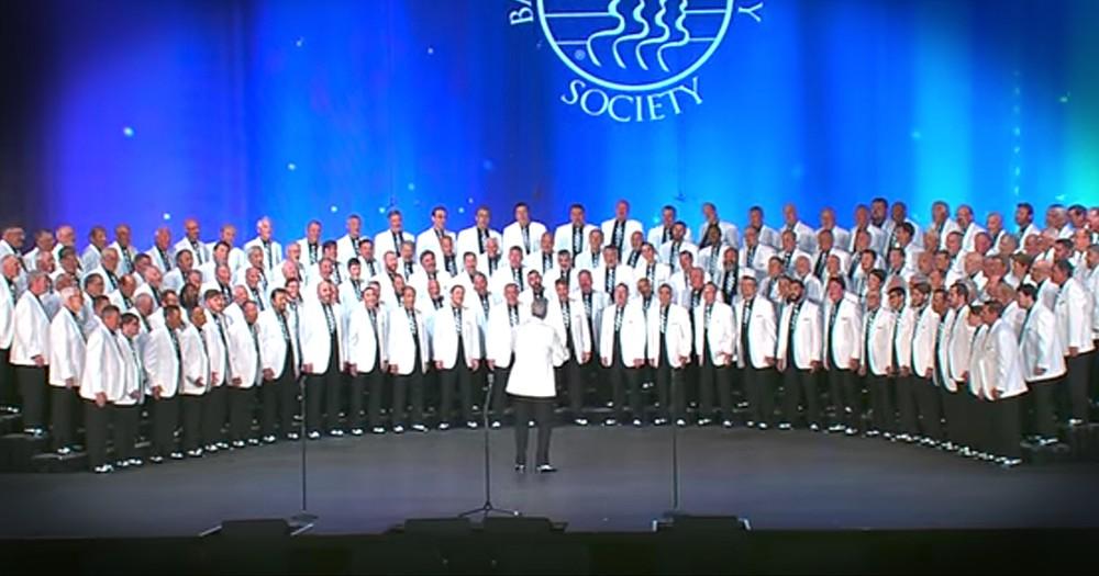 Vocal Majority Barbershop Group Performs 'Danny Boy'