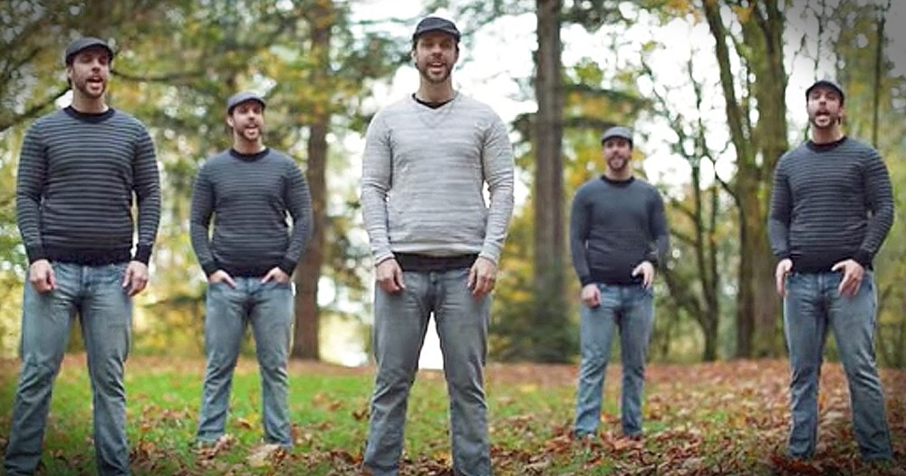 Chris Rupp Performs A Cappella Version Of 'Be Ye Glad'