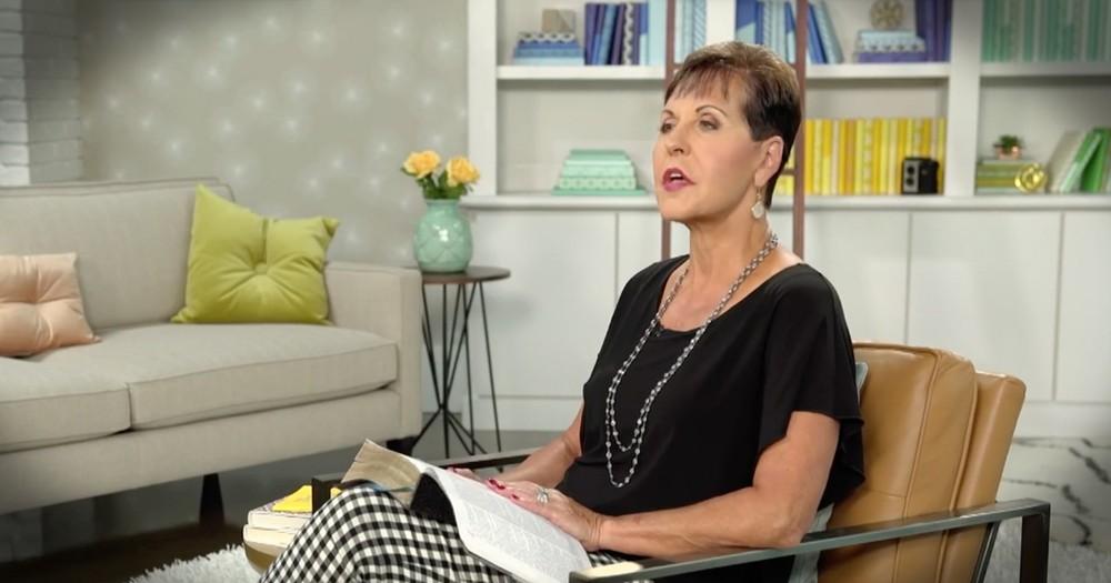 Joyce Meyer Talks Our Value In God
