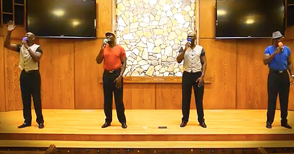 Powerful A Cappella Rendition Of 'Gentle Shepherd' From 1 Man