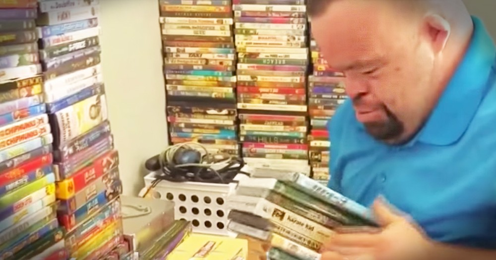 Strangers Donate Videos To Man Who Lost His Collection