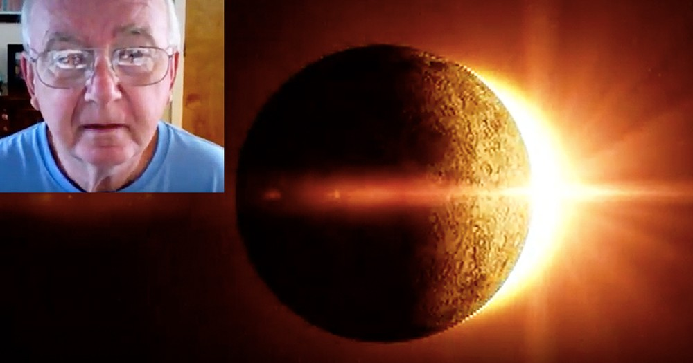 70-Year-Old Man Warns Against Dangers Of Eclipse