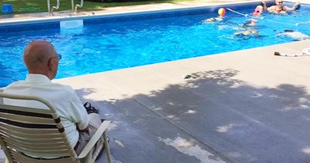 94-Year-Old Widower Builds Backyard Pool For Neighborhood Kids